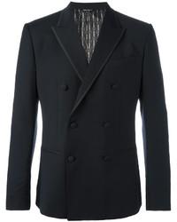 Blazer cruzado de lana azul marino de Dolce & Gabbana