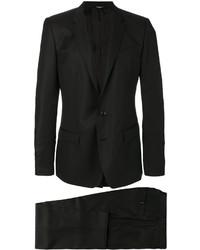 Blazer Cruzado de Seda Negro de Dolce & Gabbana
