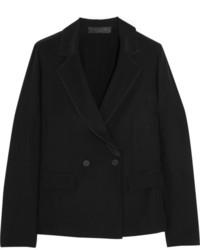 Blazer Cruzado Negro de Calvin Klein