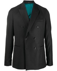Blazer cruzado negro de Paul Smith
