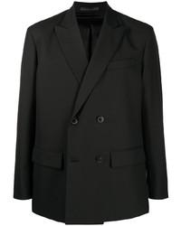 Blazer cruzado negro de Valentino