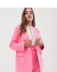 Blazer cruzado rosa de Parallel Lines