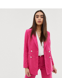 Blazer cruzado rosa de UNIQUE21