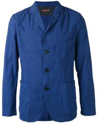 Blazer de algodón azul marino de Aspesi