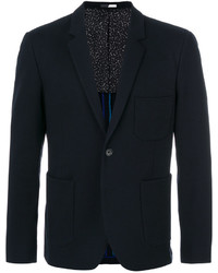Blazer de algodón azul marino de Paul Smith