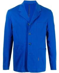 Blazer de algodón azul de Paul Smith