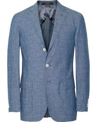 Blazer de algodón azul de Polo Ralph Lauren