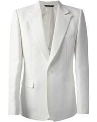 Blazer de algodón blanco de Dolce & Gabbana
