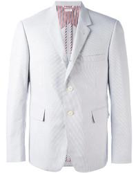 Blazer de algodón blanco de Thom Browne