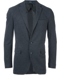Blazer de algodón en gris oscuro de Polo Ralph Lauren