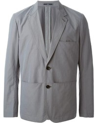 Blazer de Algodón Gris de Paul Smith