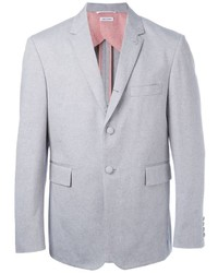 Blazer de algodón gris de Thom Browne