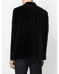 Blazer de algodón negro de Dondup