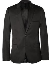 Blazer de algodón negro de Calvin Klein