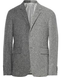 Blazer de espiguilla gris de Thom Browne