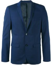 Blazer de lana azul marino de Calvin Klein