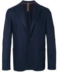 Blazer de lana azul marino de Eleventy