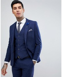 Blazer de lana azul marino de Harry Brown