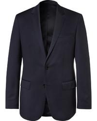 Blazer de lana azul marino de Hugo Boss