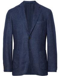 Blazer de lana azul marino de Incotex