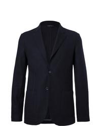 Blazer de lana azul marino de Loro Piana