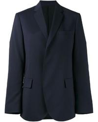 Blazer de lana azul marino de MSGM