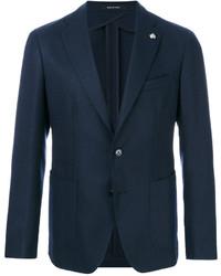Blazer de lana azul marino de Tagliatore