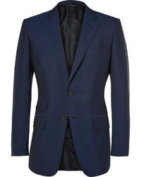 Blazer de lana azul marino de Tom Ford