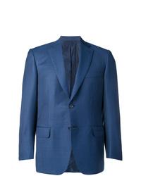 Blazer de lana azul de Brioni