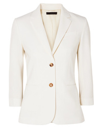 Blazer de lana blanco de The Row