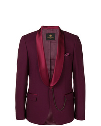Blazer de lana burdeos de Lords And Fools