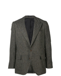 Blazer de lana en gris oscuro de Boglioli