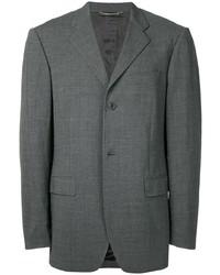 Blazer de lana en gris oscuro de Dolce & Gabbana Pre-Owned