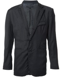 Blazer de lana en gris oscuro de Engineered Garments