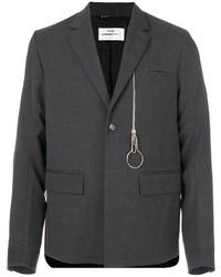 Blazer de lana en gris oscuro de Oamc