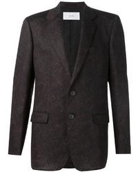 Blazer de lana en marrón oscuro de Julien David