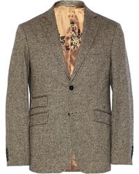Blazer de lana gris de Billy Reid