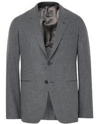 Blazer de lana gris de Caruso