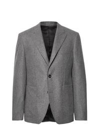 Blazer de lana gris de Salle Privée