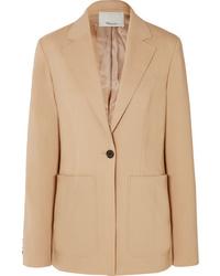 Blazer de lana marrón claro de 3.1 Phillip Lim