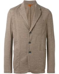 Blazer de lana marrón claro de Barena