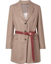 Blazer de lana marrón claro de Giuliva Heritage Collection