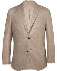 Blazer de lana marrón de Boglioli