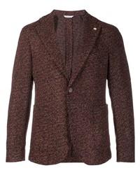 Blazer de lana marrón de Manuel Ritz