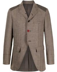 Blazer de lana marrón de Undercover