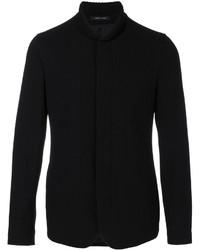 Blazer de lana negro de Emporio Armani