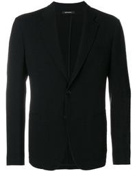 Blazer de lana negro de Giorgio Armani
