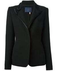 Blazer de lana negro de Lanvin