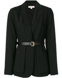 Blazer de lana negro de MICHAEL Michael Kors