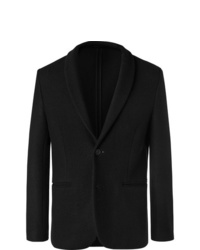 Blazer de lana negro de The Row